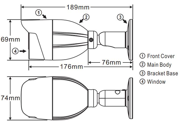 LILIN Bullet Dimension